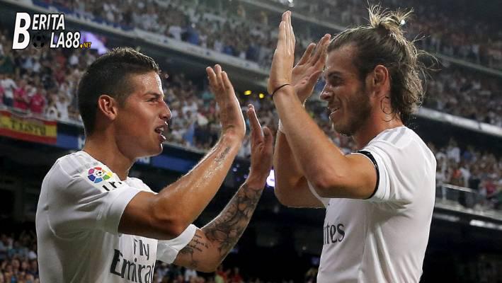 Gareth Bale dan James Rodriguez Tinggalkan Real Madrid