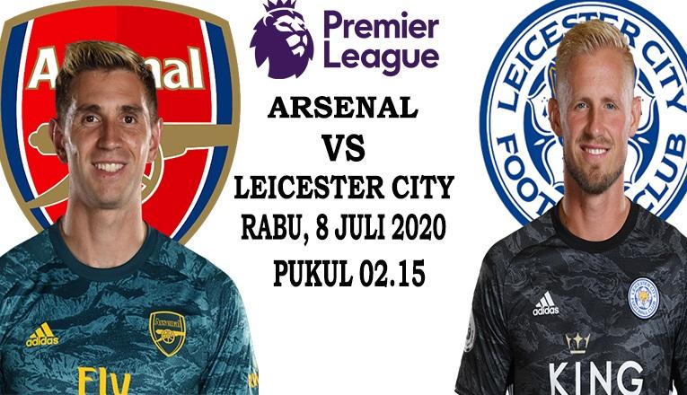 Prediksi Skor Arsenal vs Leicester 8 Juli 2020