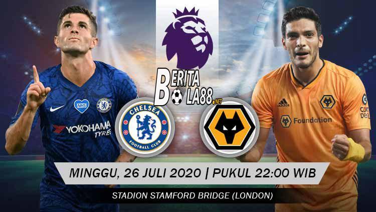 Prediksi Skor Chelsea vs Wolverhampton 26 Juli 2020