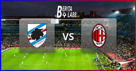 Prediksi Skor Sampdoria vs AC Milan 30 Juli 2020