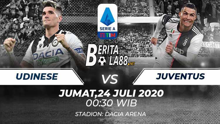 Prediksi Skor Udinese vs Juventus 24 Juli 2020
