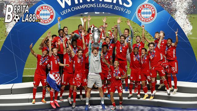 Bayern Munchen Merayakan Pesta Juara Liga Champions