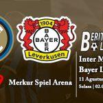 Prediksi Skor Inter Milan vs Bayer Leverkusen 11 Agustus 2020