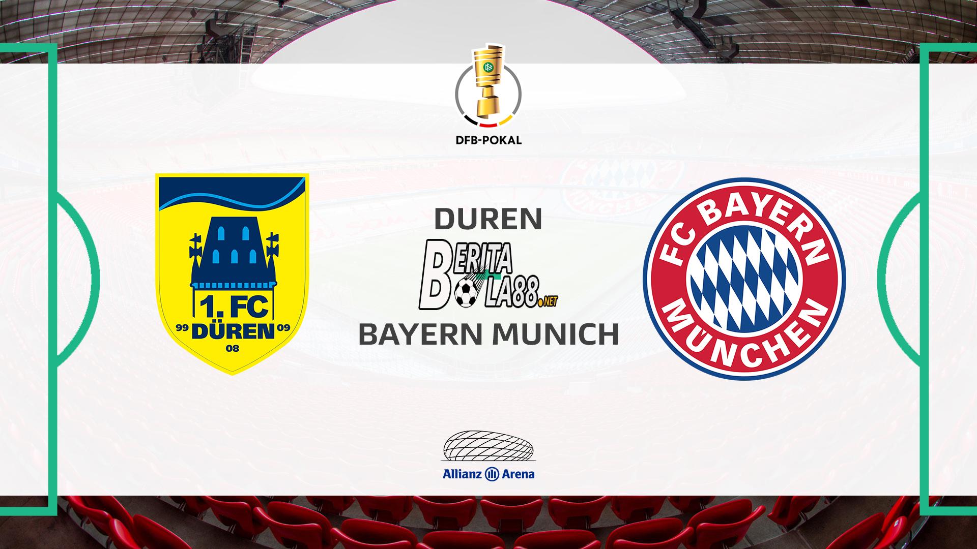 Prediksi Skor Duren vs Bayern Munich 16 oktober 2020