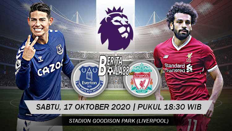 Prediksi Skor Everton vs Liverpool 17 oktober 2020