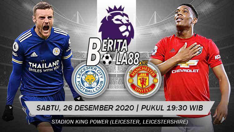 Prediksi Skor Leicester vs Manchester United 26 Desember 2020